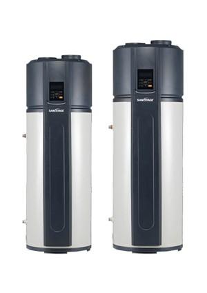 chauffe eau pompe chaleur sanistage nergie solaire. Black Bedroom Furniture Sets. Home Design Ideas