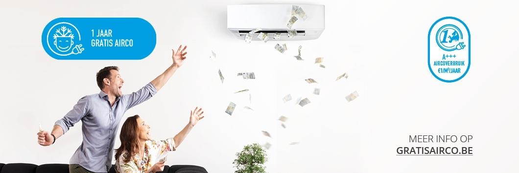 1 jaar lang gratis airco: ontdek onze cashback-actie!