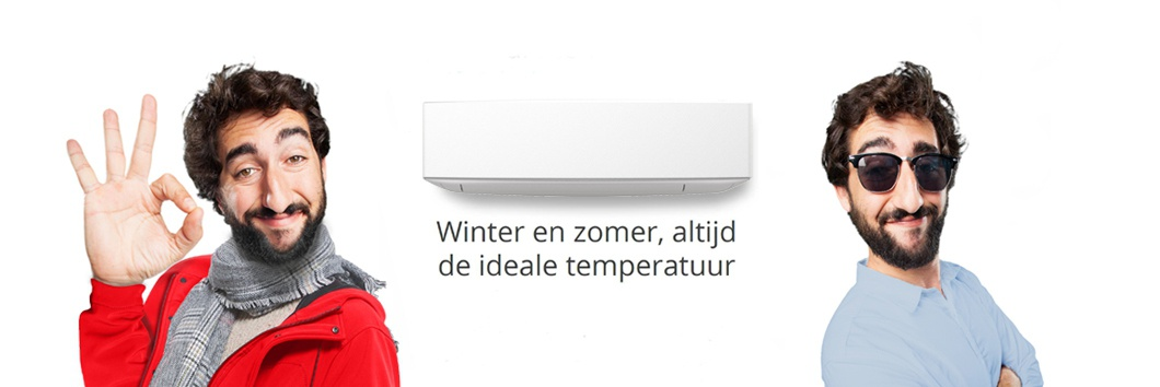 Winter en zomer, altijd de ideale temperatuur