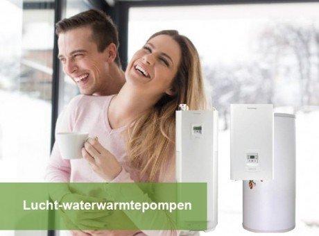 Lucht-waterwarmtepompen